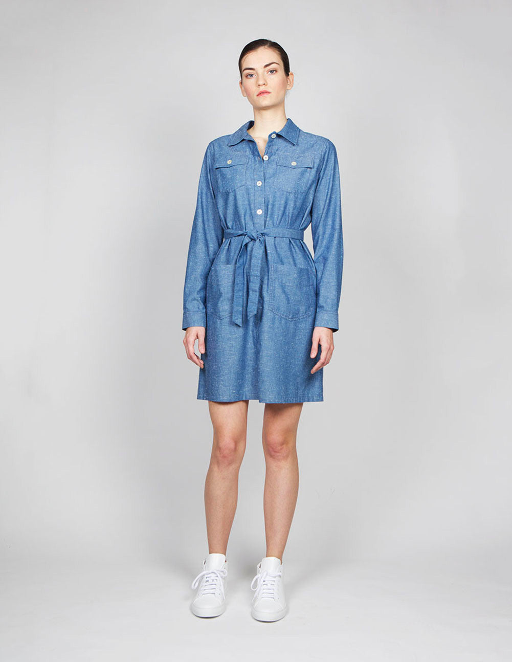 Dolly Chambray Dress
