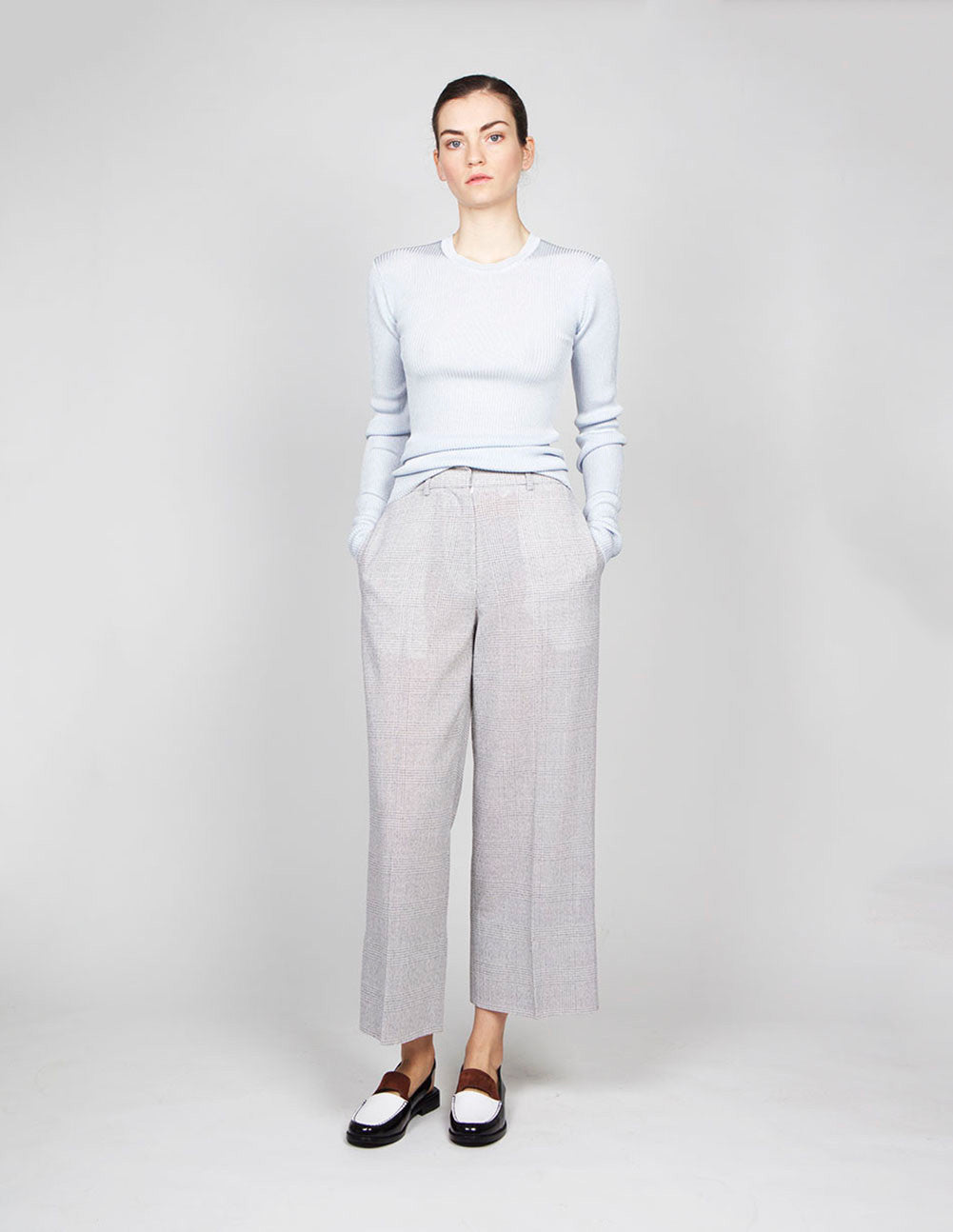 High Waisted Trouser