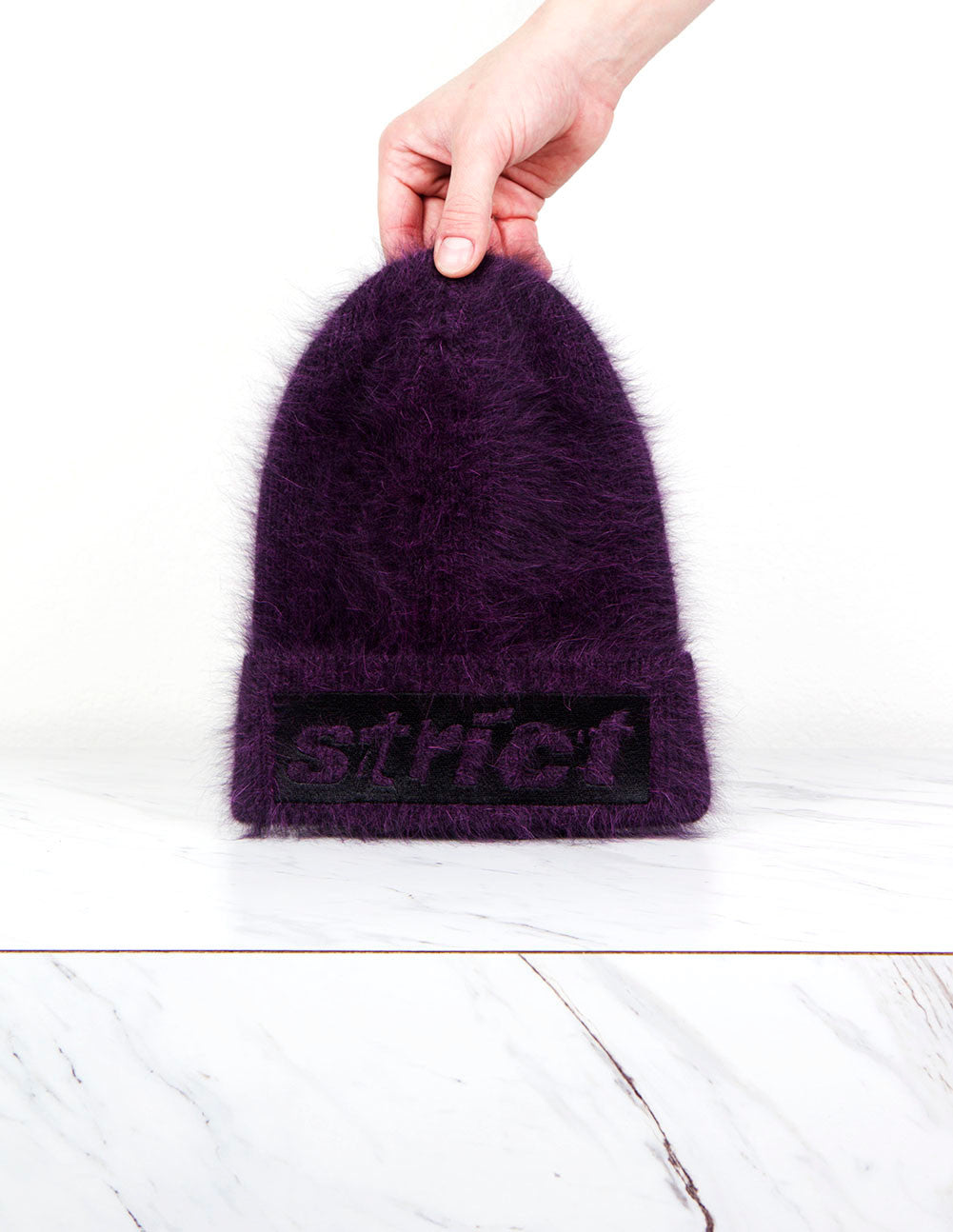 Ribbed Embroidered Beanie