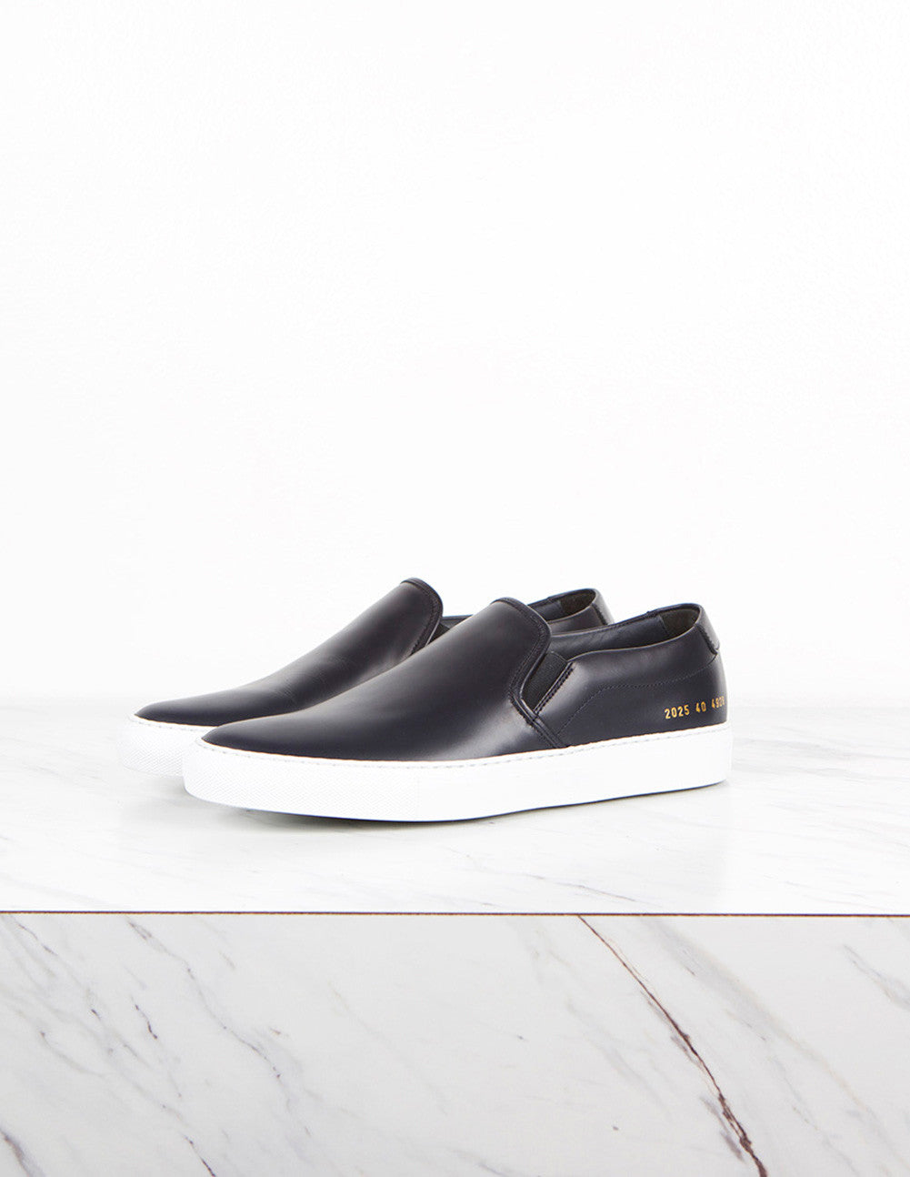 Leather Slip-On