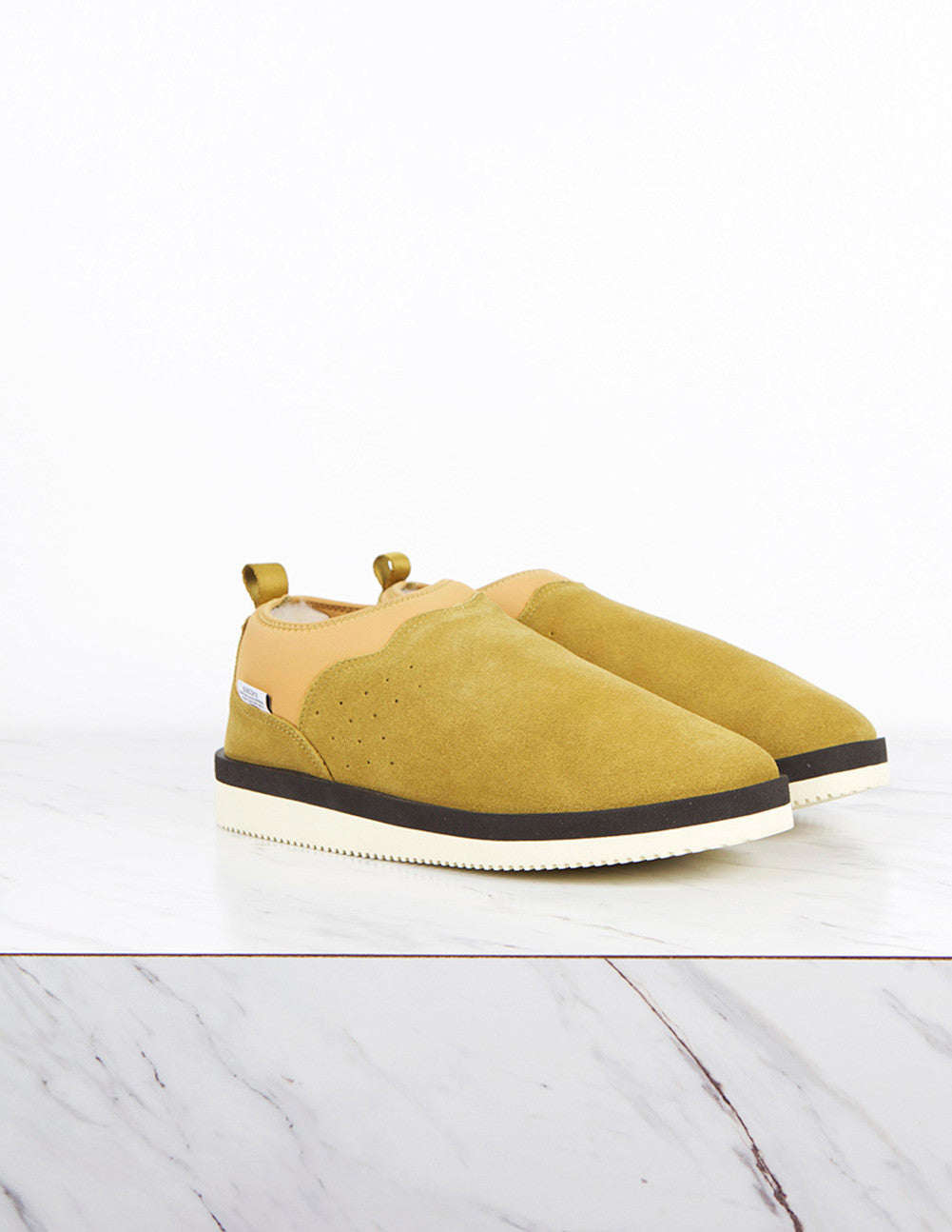 Shearling Lined Slip-Ons