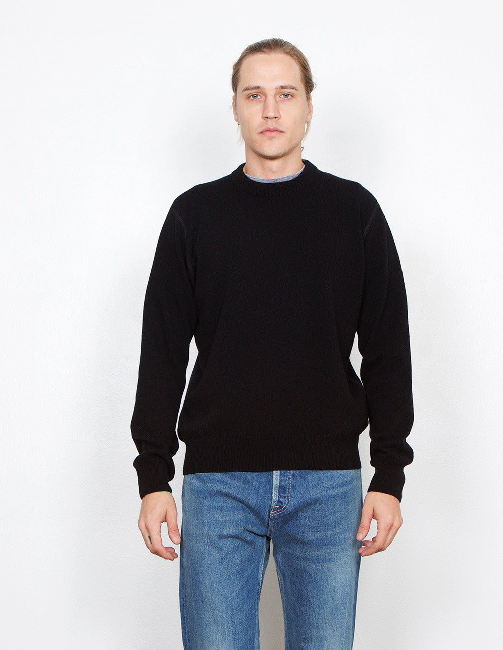 Round Neck Merino Sweater