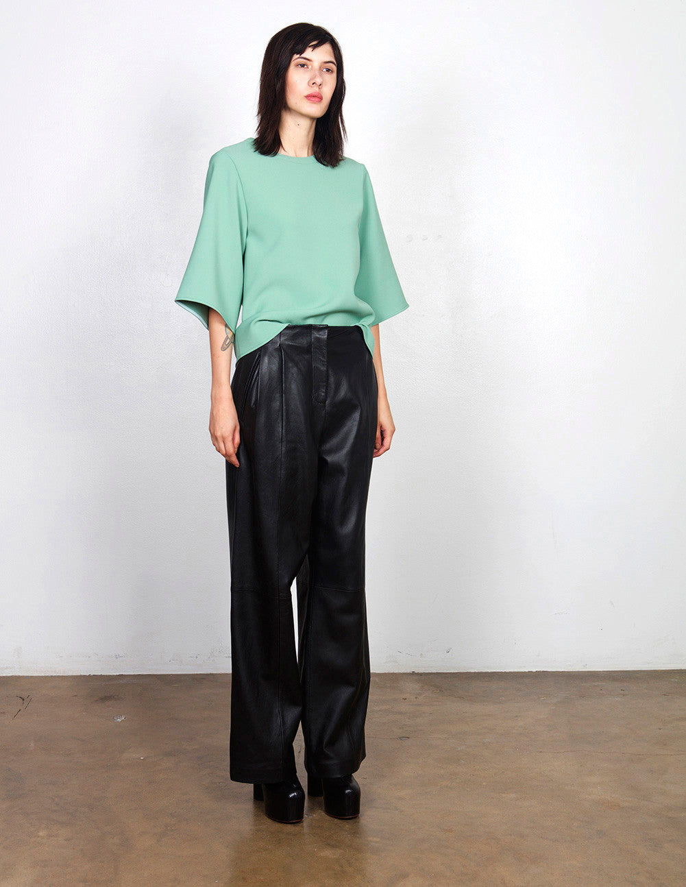 Bess Leather Trouser