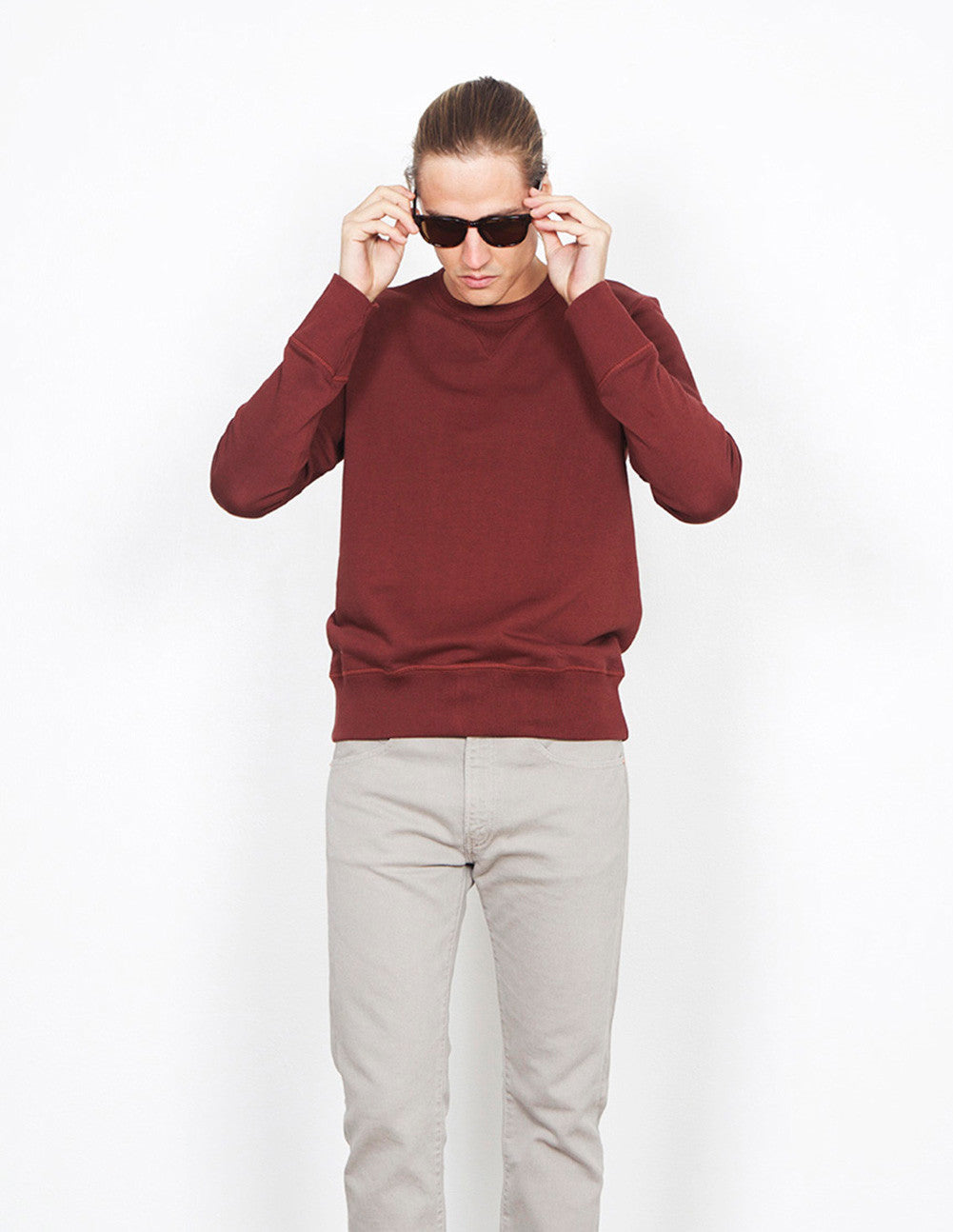 3-Thread Fleece Sweatshirt