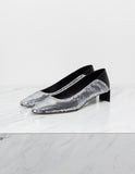Low Heel Sequin Slipper