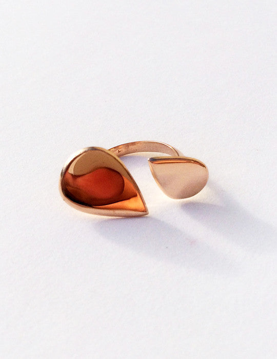 Teardrop Duo Ring