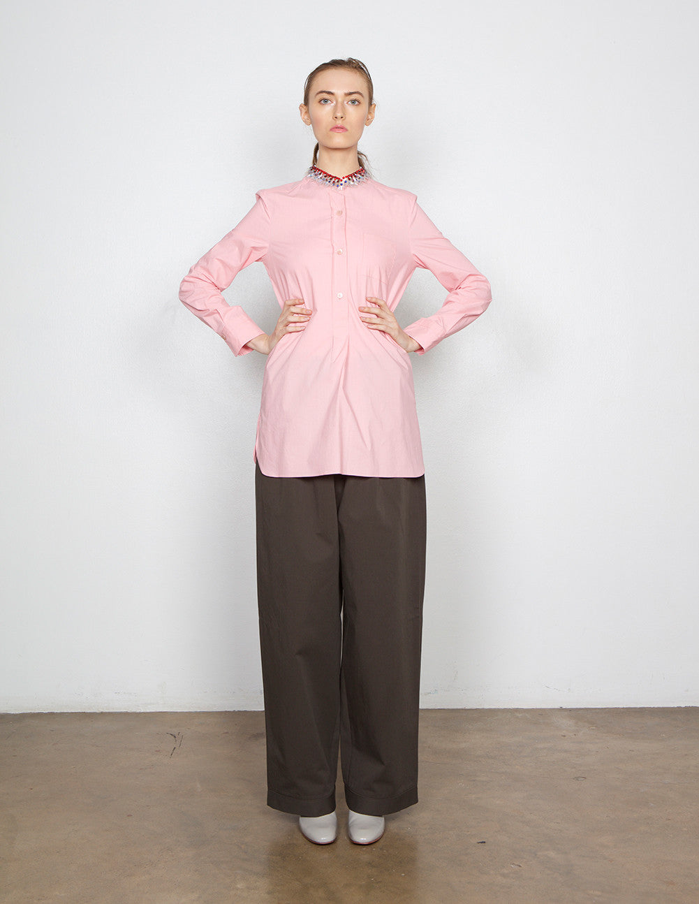 Corean Neck Blouse