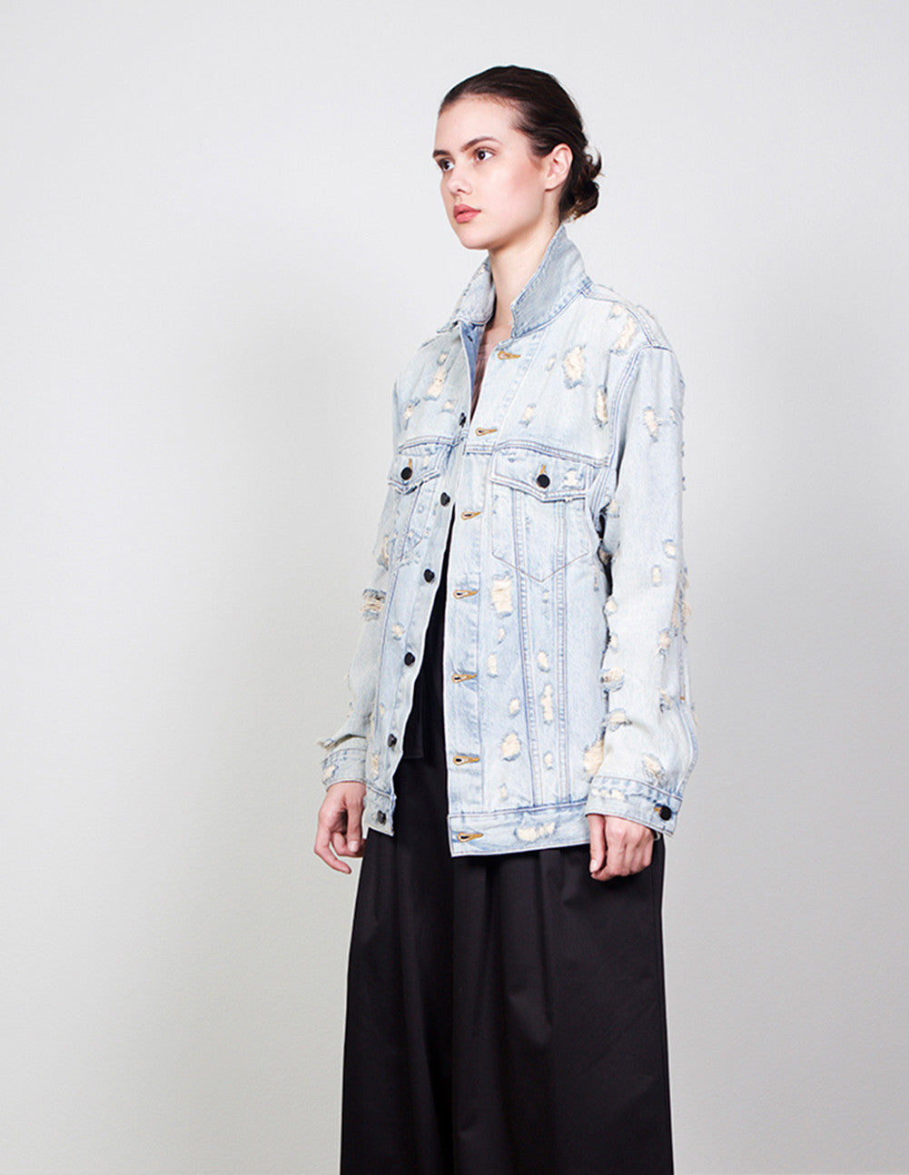 Daze Bleach Scratch Jacket