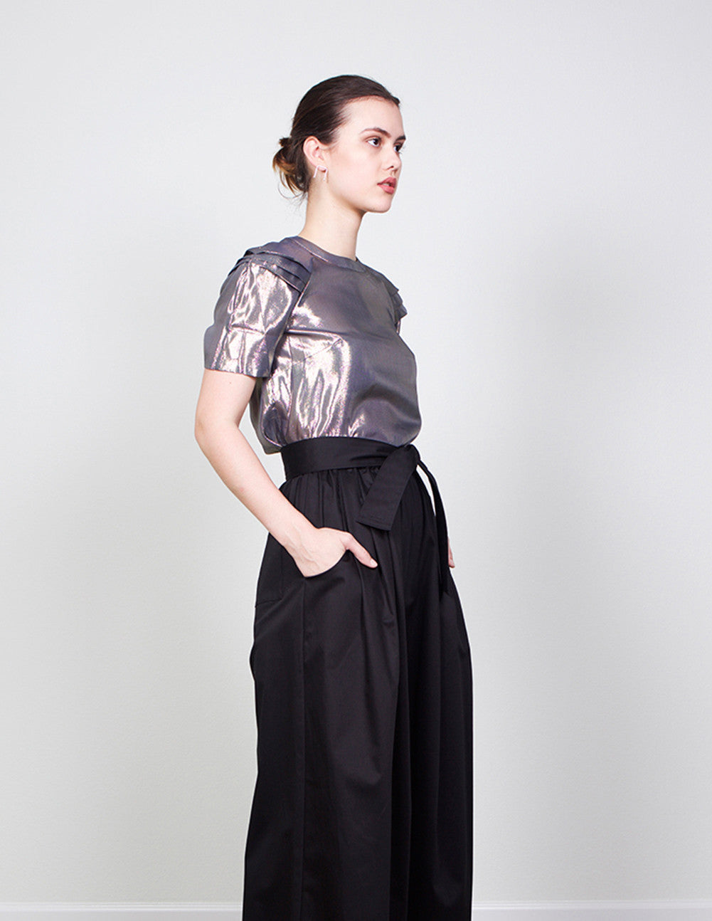 Alice Pleated T-Shirt