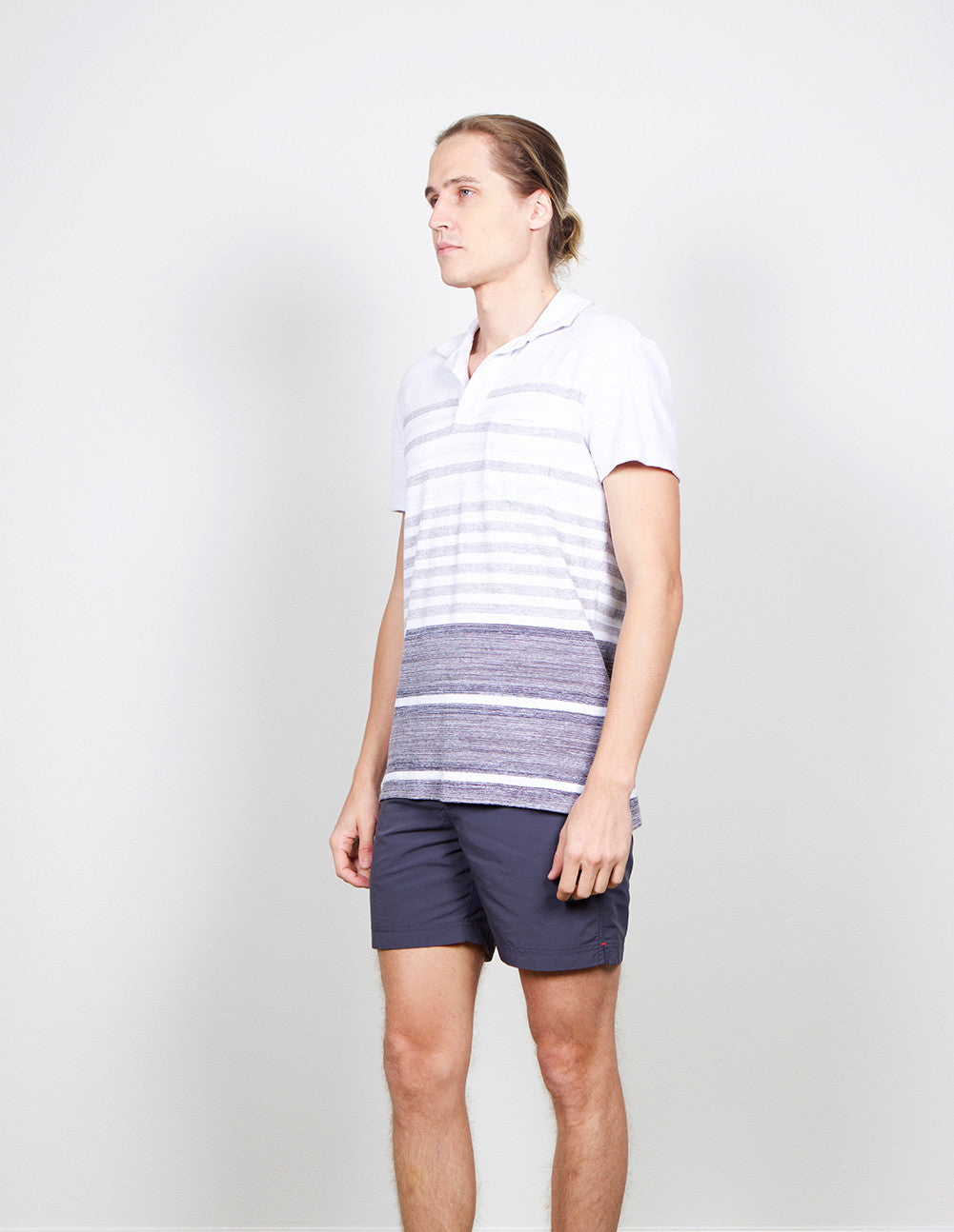 Terry Stripe Shirt