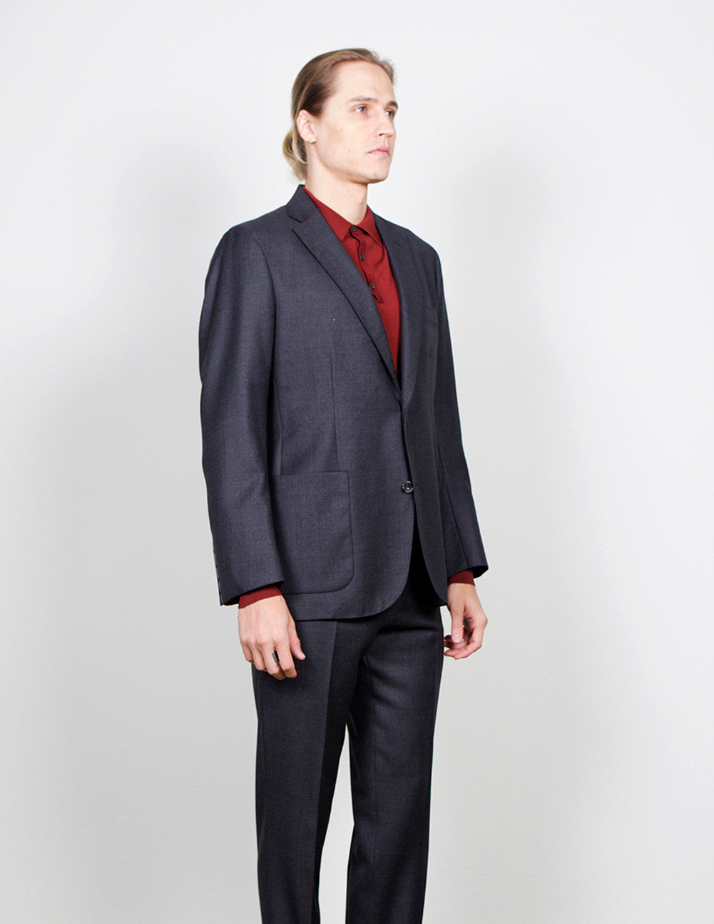 Birdseye Wool Sport Coat