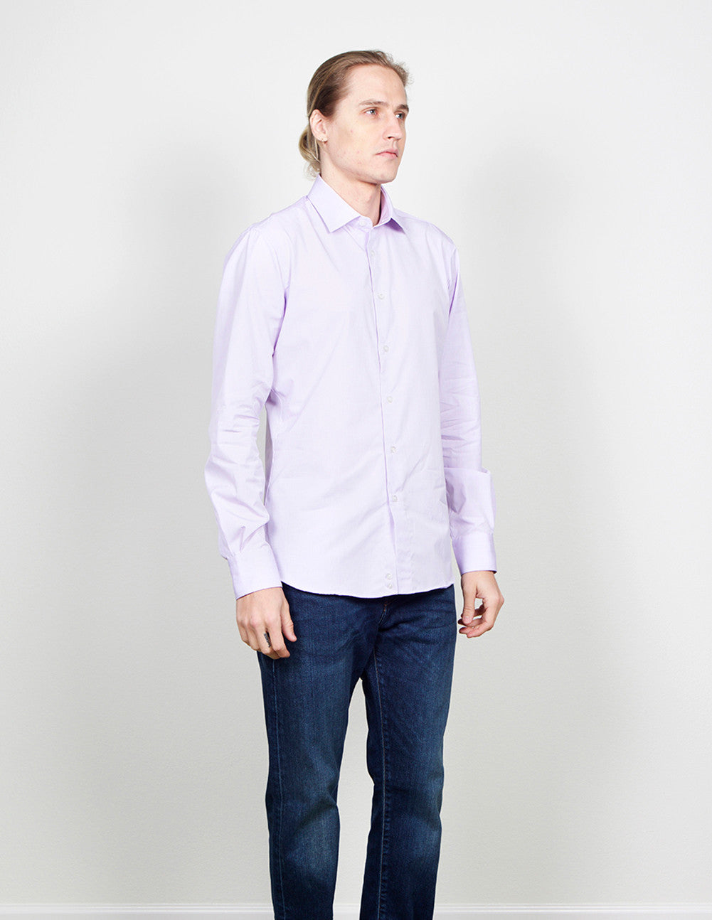 Purple Button Down