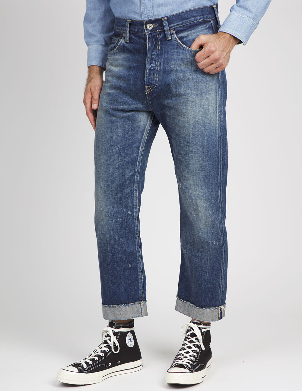 Selvedge Ankle Cut Jean