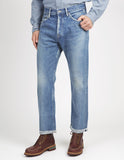 Selvedge Ankle Cut Jeans