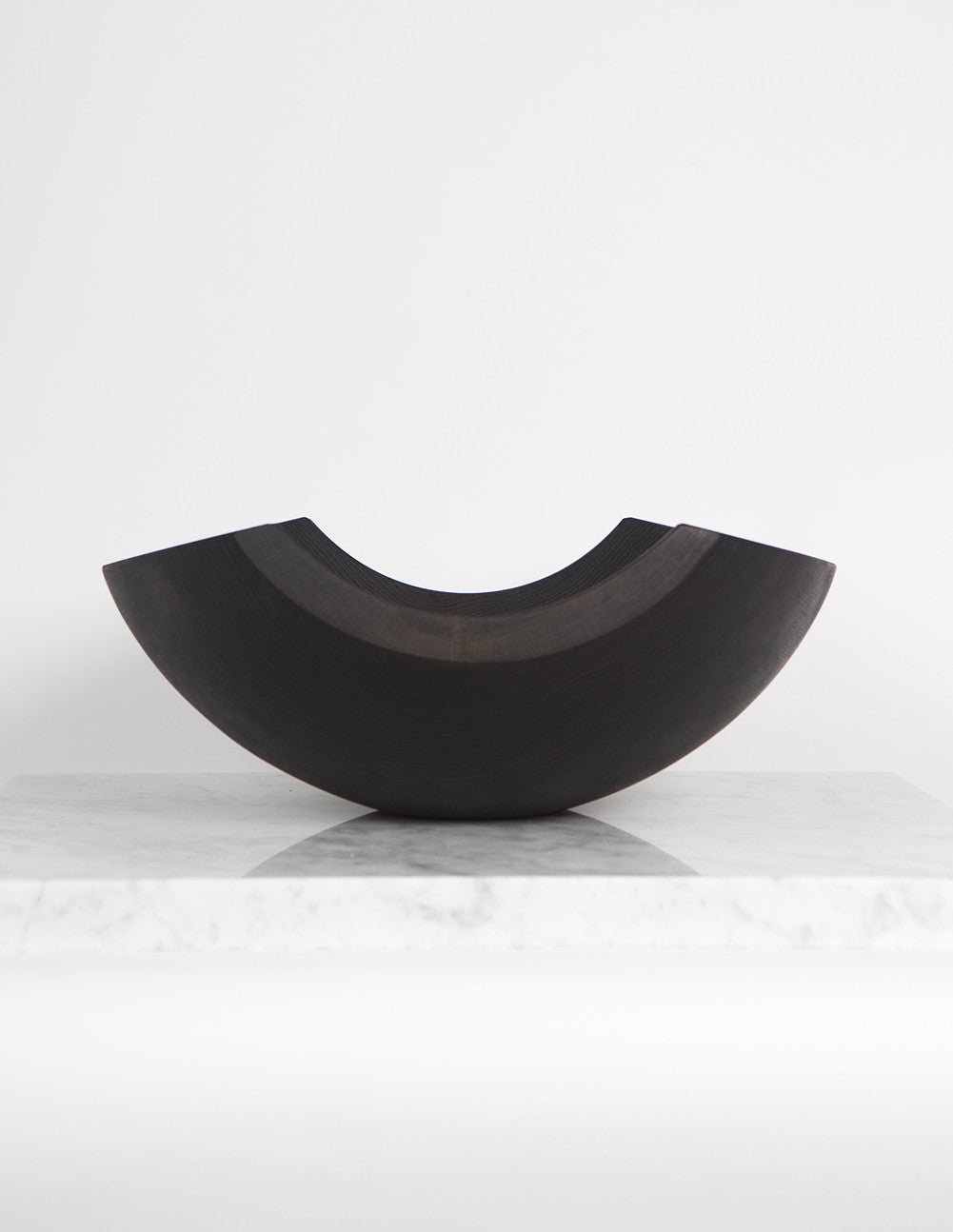 Large Ebonized Shard Bowl