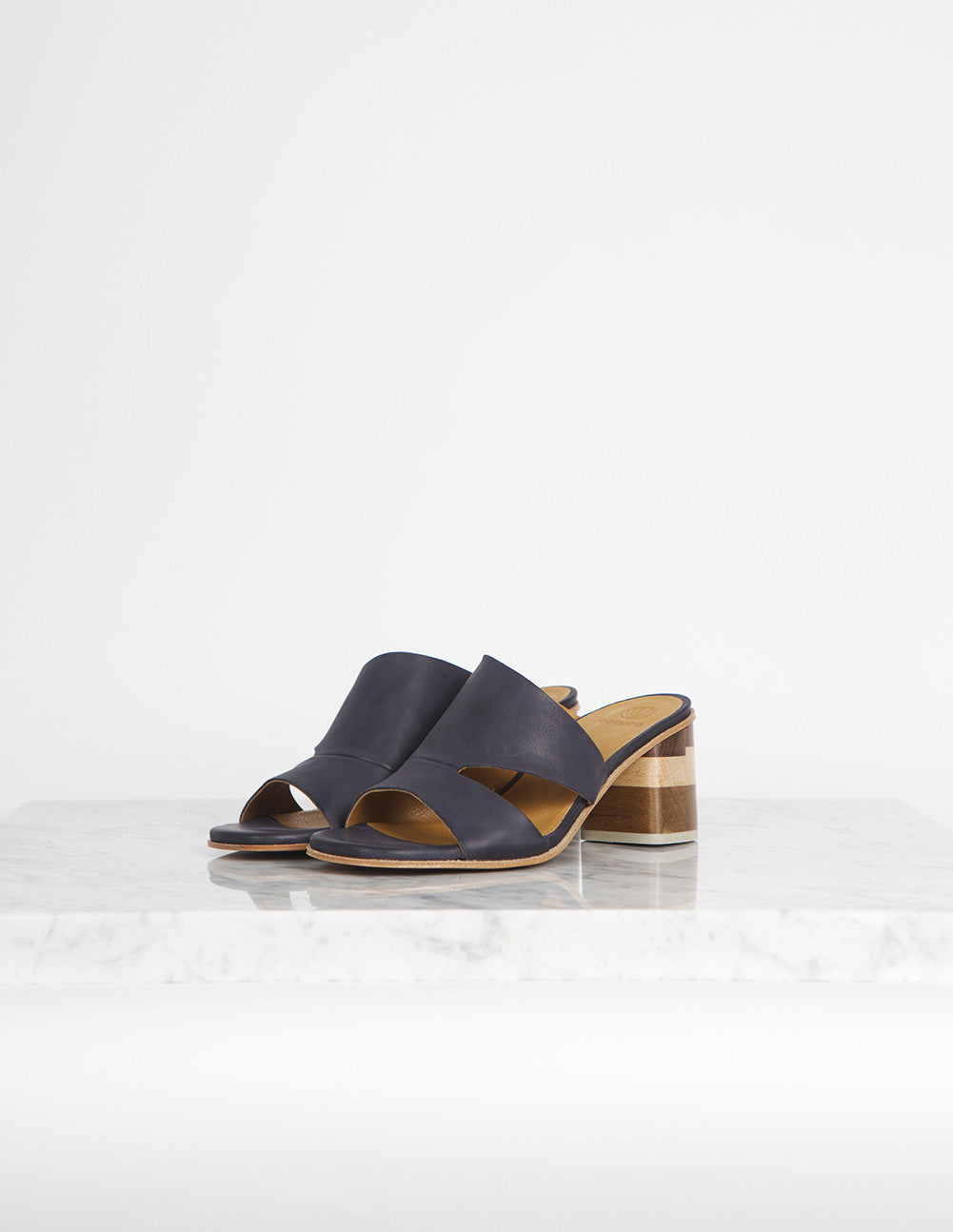 Barrel Sandal Heel