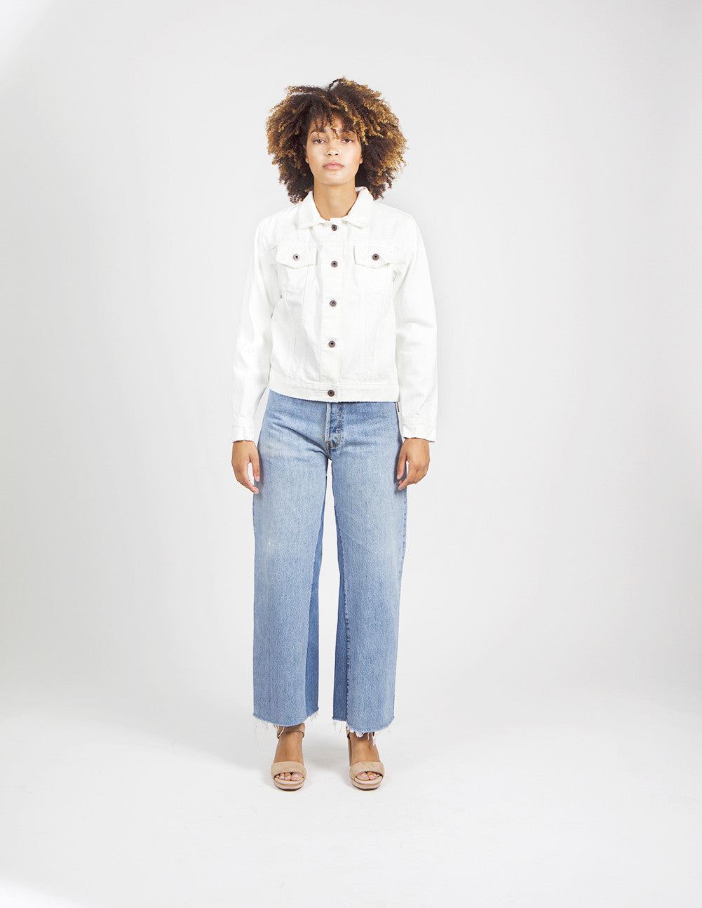 Howe White Denim Jacket