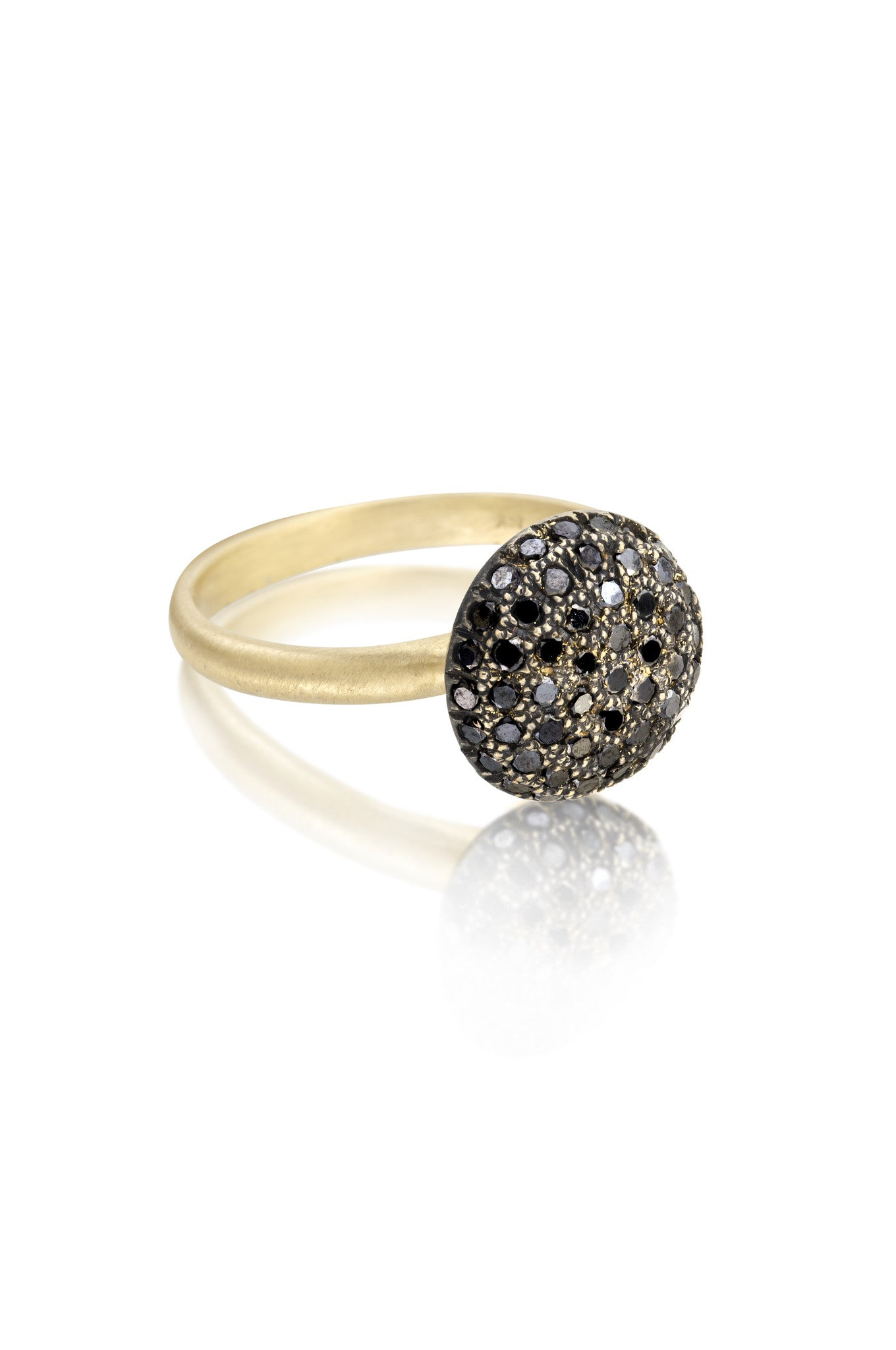 Black Pave Ring