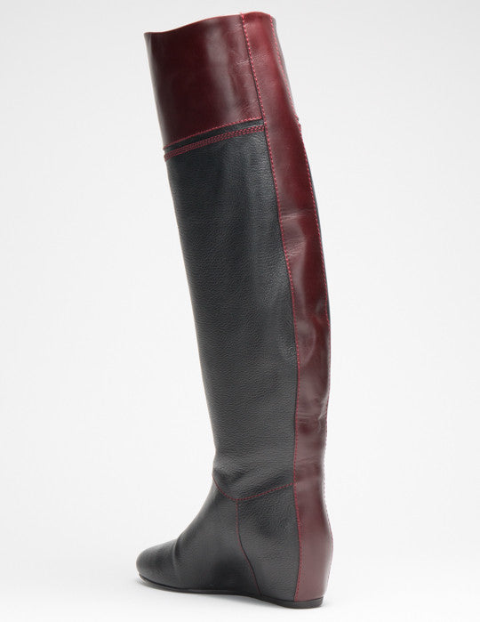Hidden Wedge Tall Boot