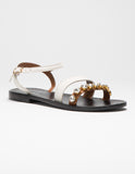 Double Toe Strap Sandal