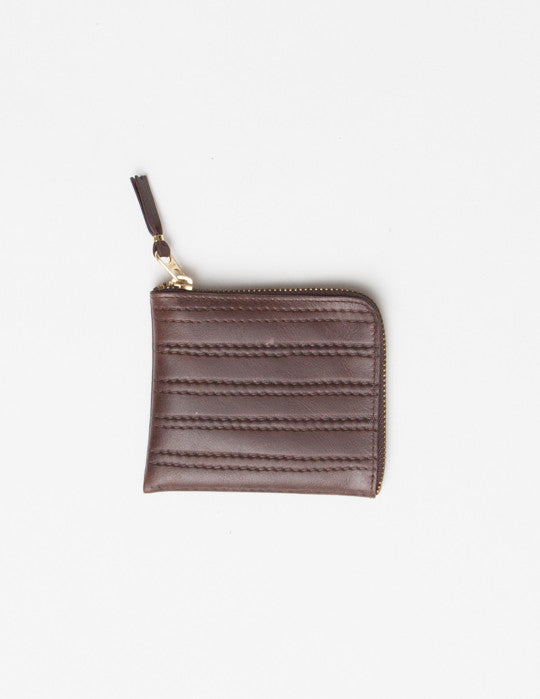 Embossed Stitch Wallet