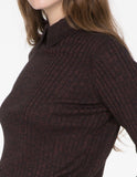 Melange Ribbed Sweater
