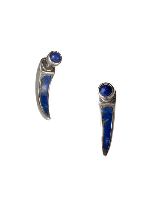 Inlay Horn Earring