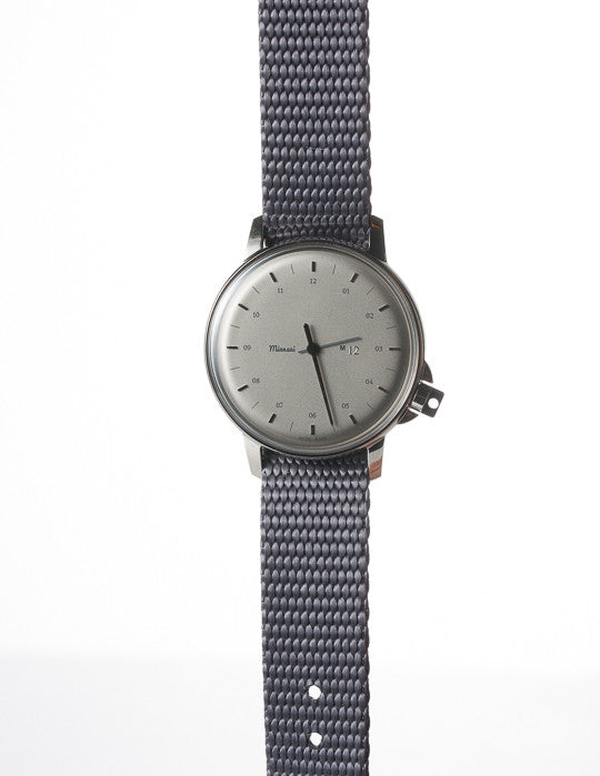 M12 Stainless Steel Watch on Nylon