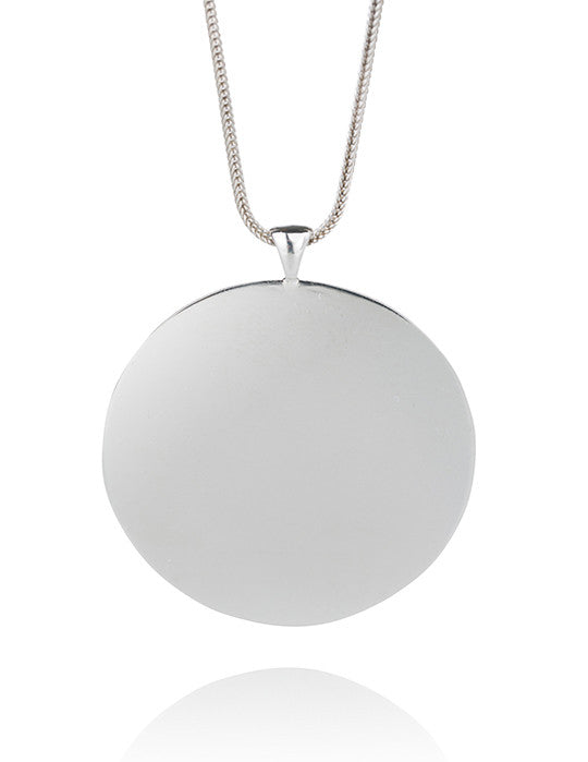 Disk Toggle Necklace