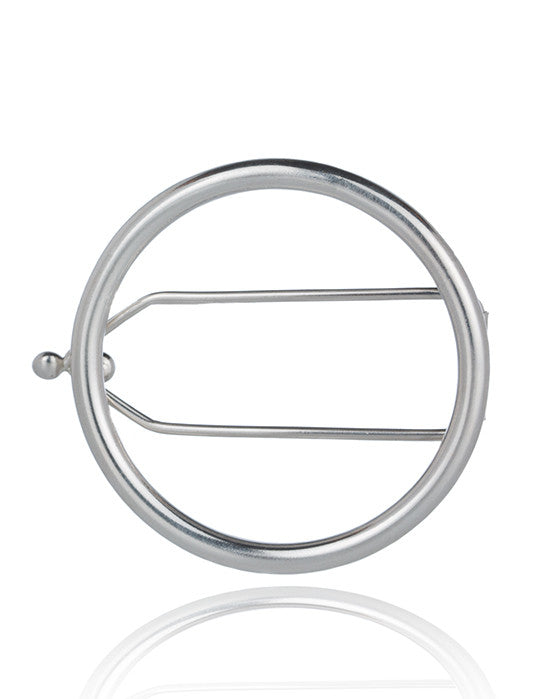 Open Circle Hair Clip