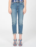 Row Straight Cropped Jean