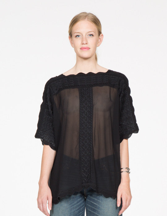 Axel Embroidered Top