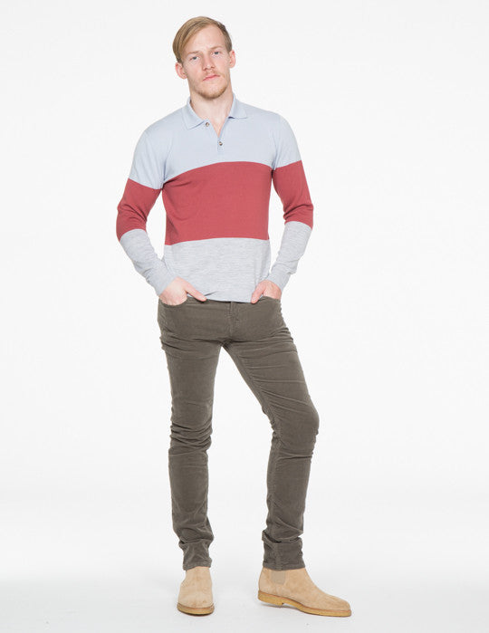 Leo Colorblock Polo