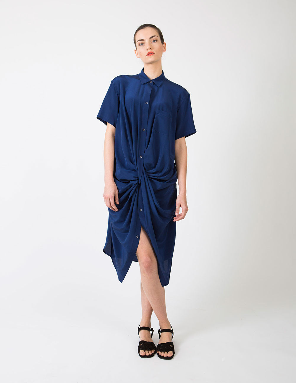 Twist Shirtdress