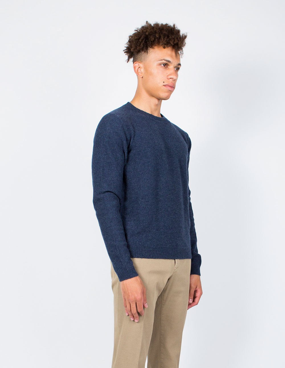 Wide Rib Cashmere Sweater
