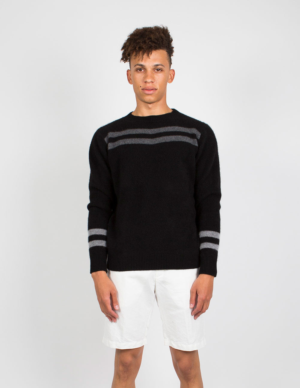 Heavy Space Striped Sweater