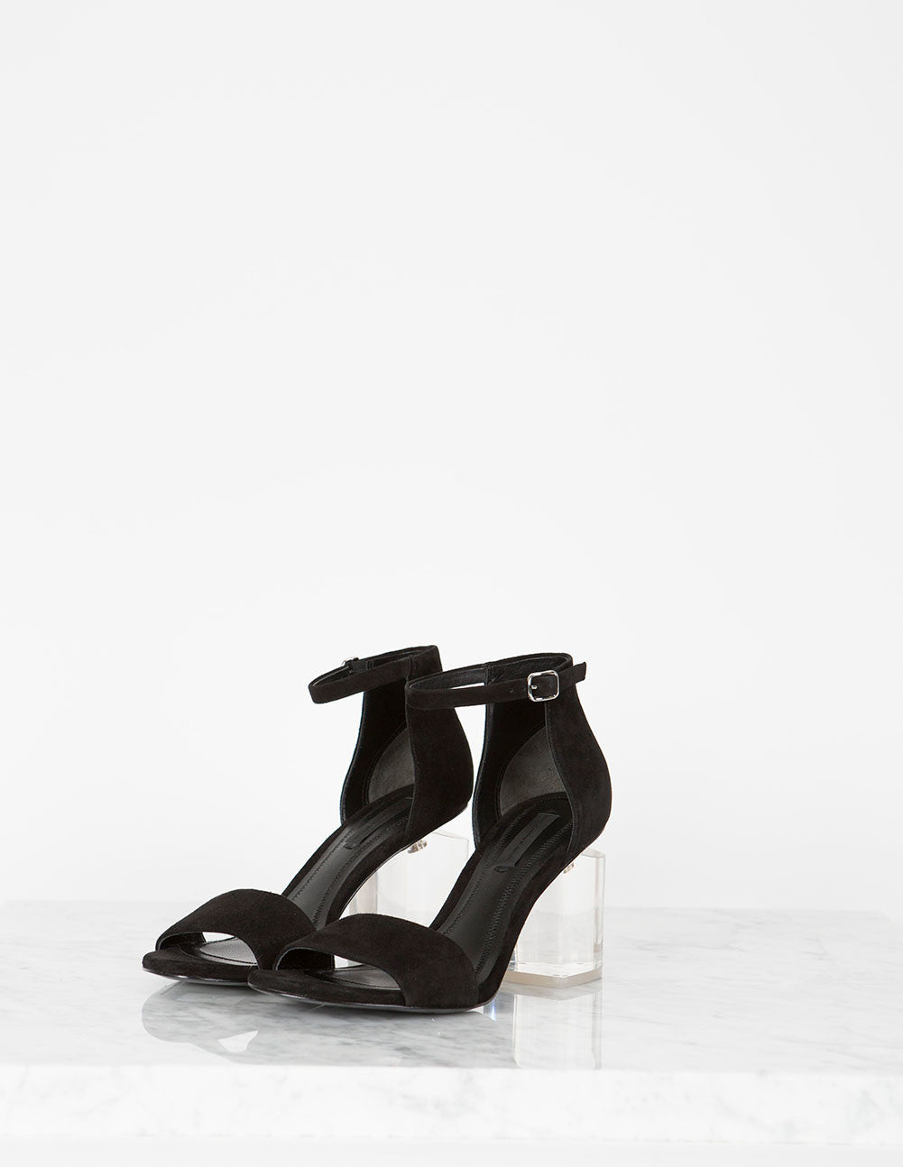 Abby Suede Sandal