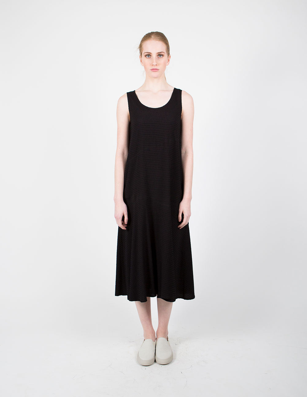 Seersucker Tank Dress