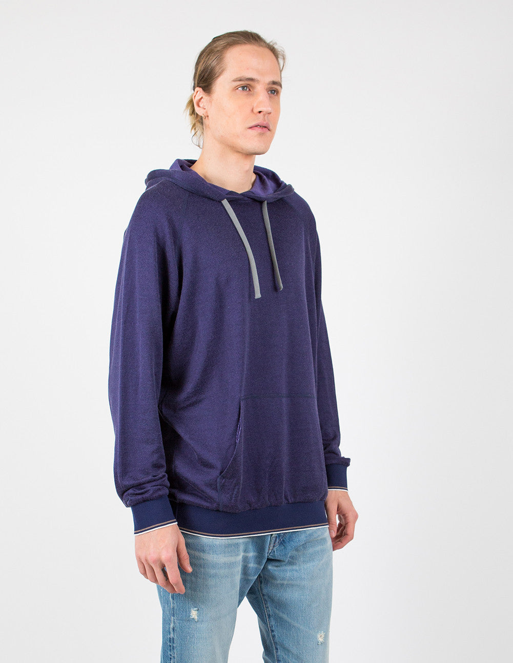 Washed Fleece Hoodie
