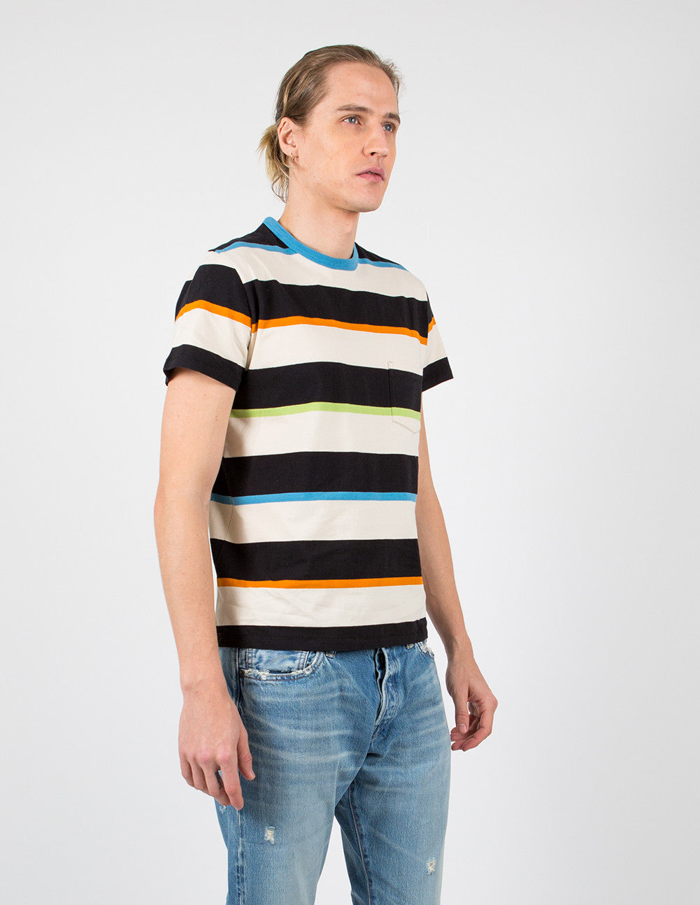 1960's Casual Stripe T-Shirt