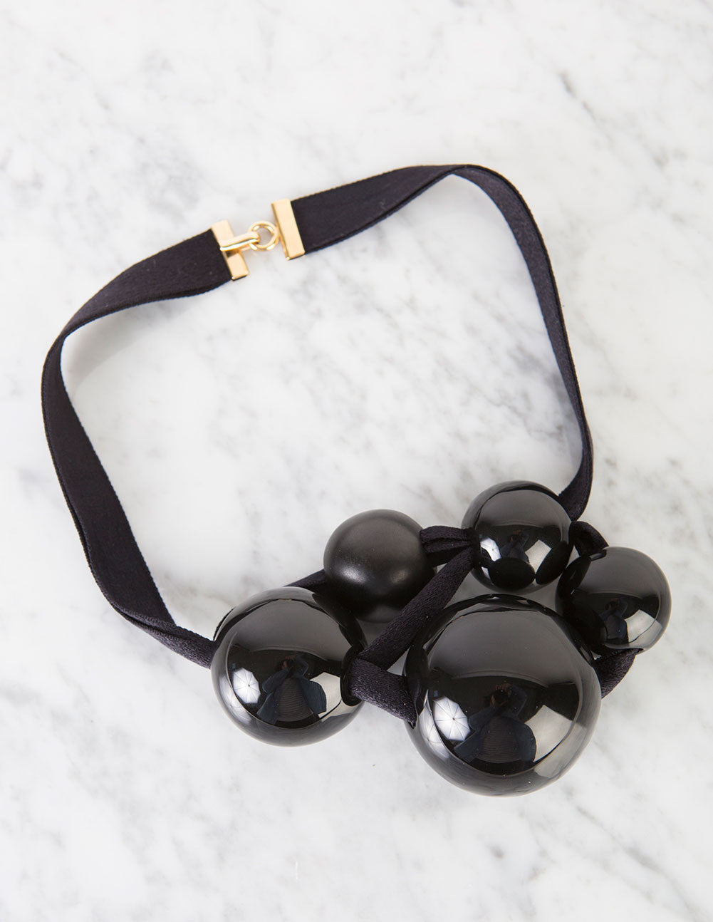 Black Ceramic Necklace