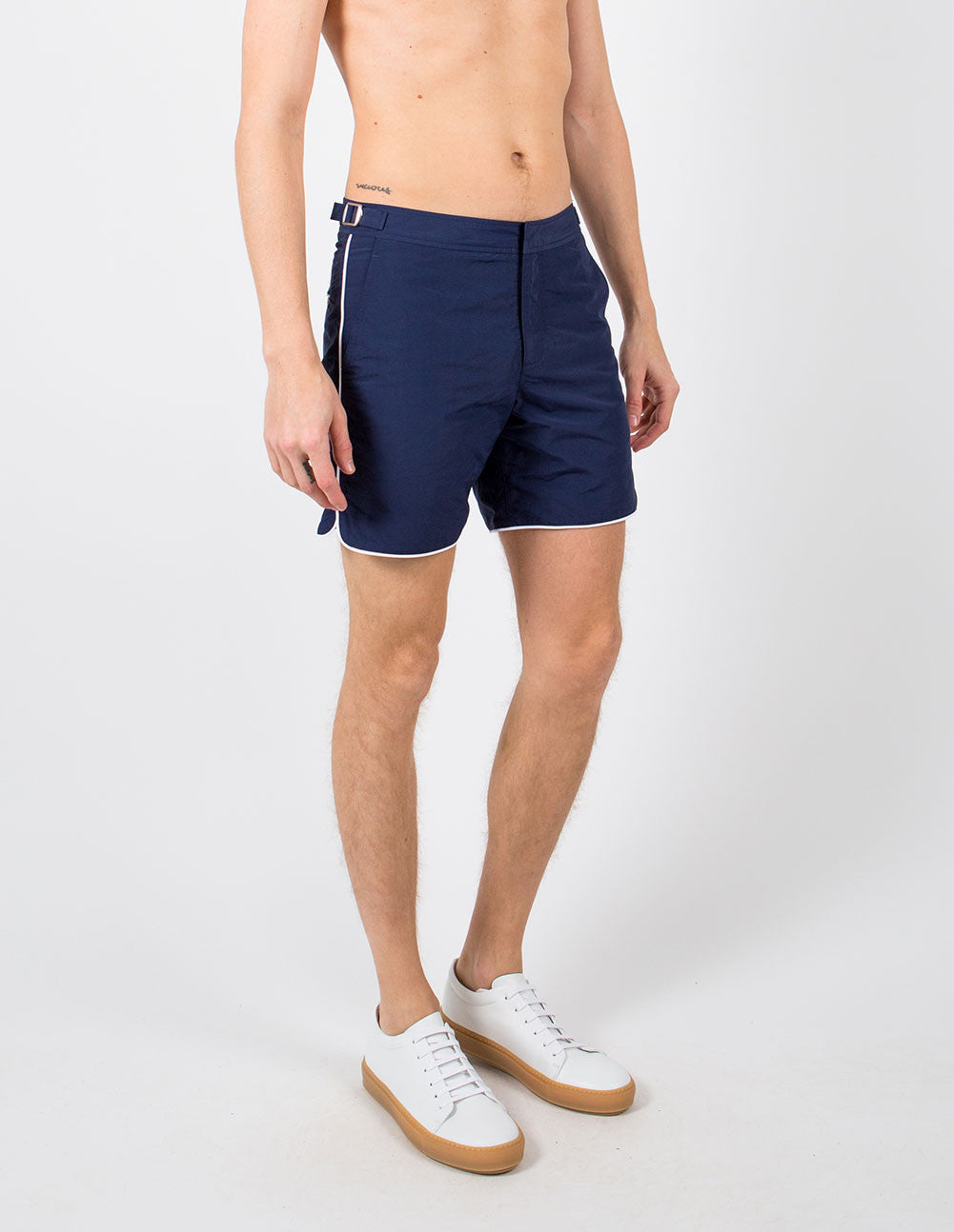 Bulldog Piping Swim Short