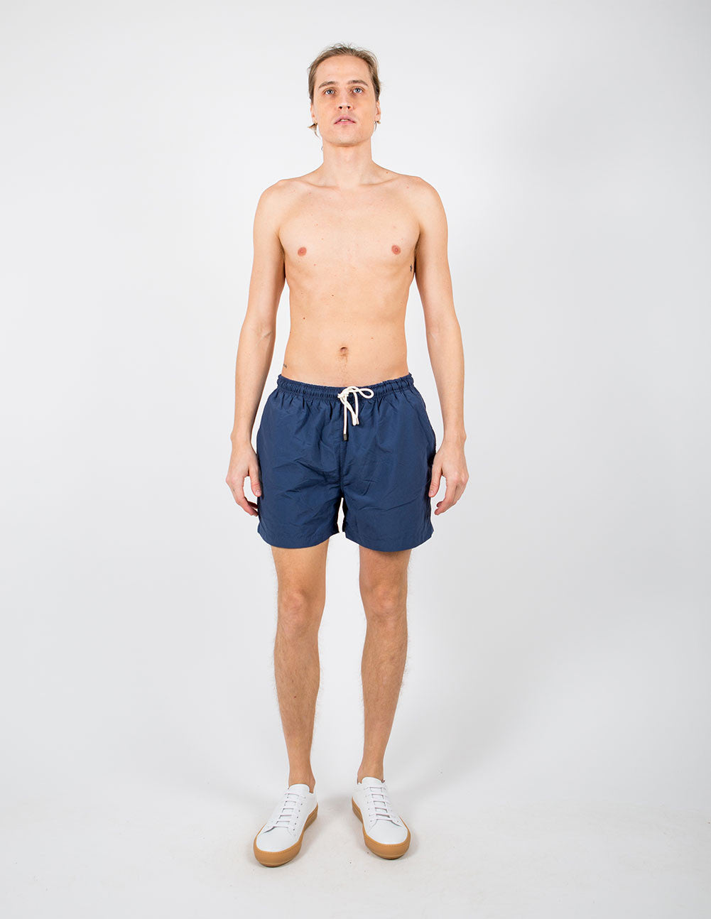 The Classic Navy Swim Shorts