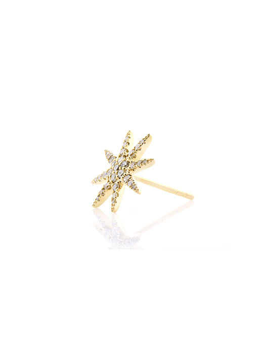Large Diamond Starburst Studs