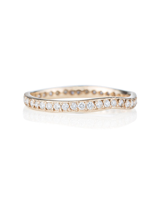 Wavy Stacking Ring