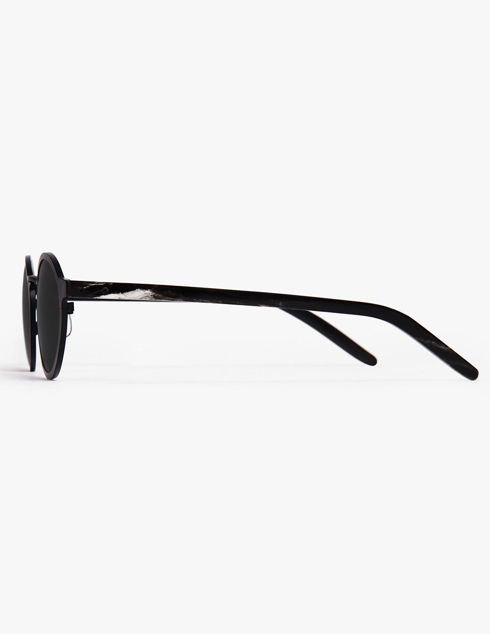 Metal and Horn Sunglass