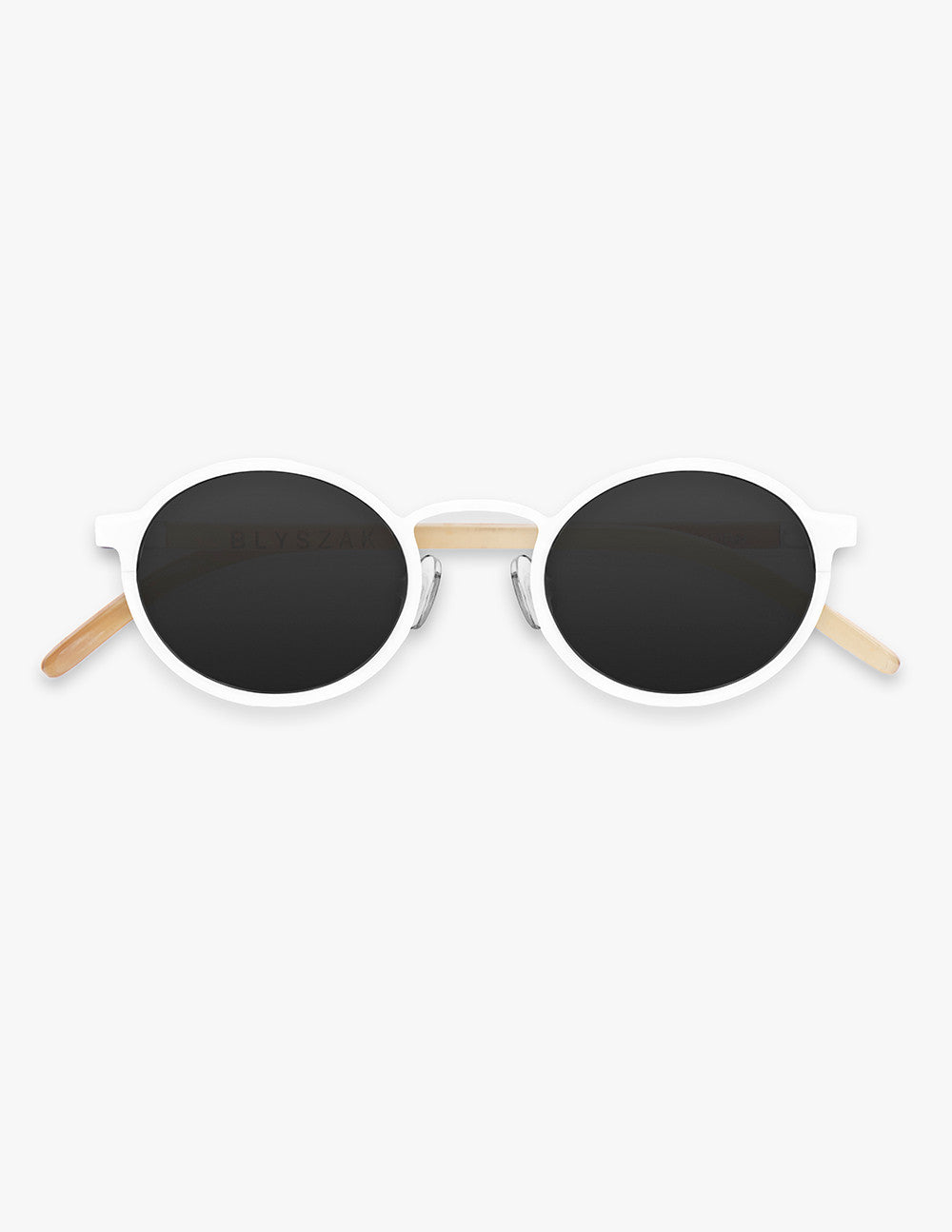 Metal and Horn Sunglasses
