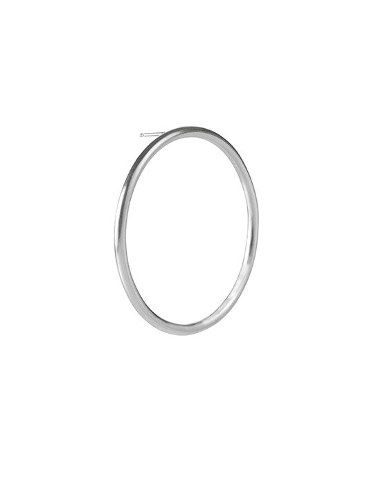 Open Circle Hoops