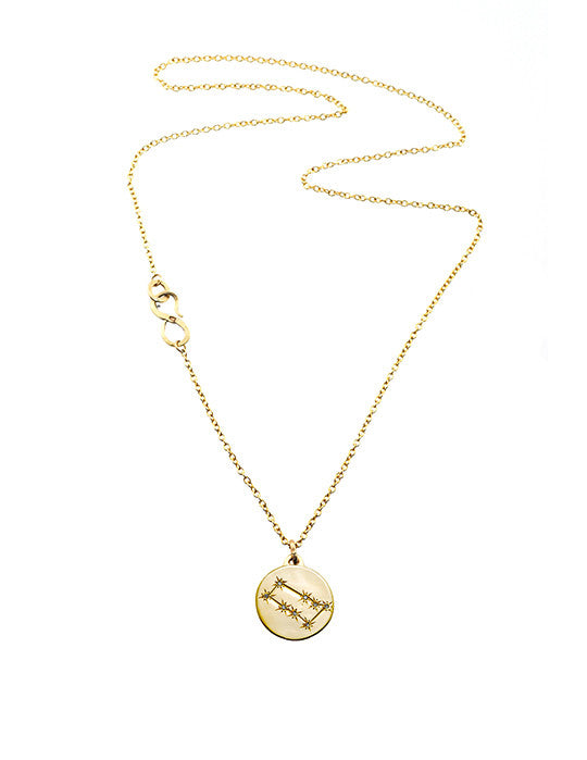 Gemini Coin Necklace