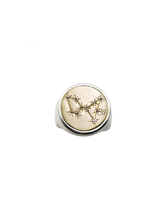 Sagittarius Coin Ring